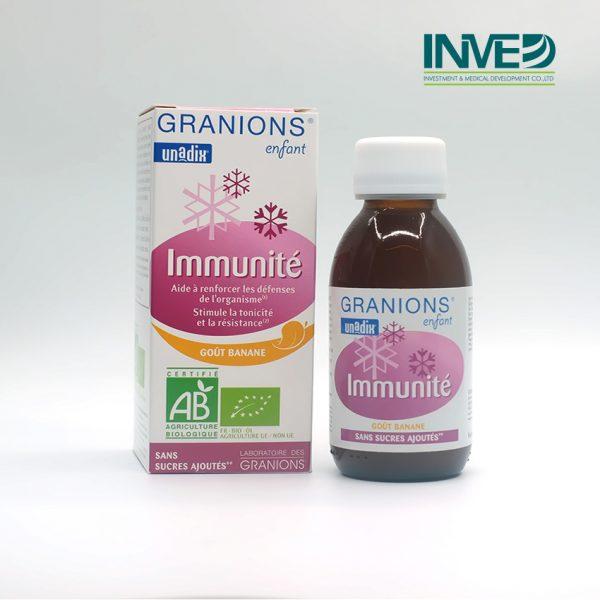 Siro tăng cường hệ miễn dịch Granions Inmunité