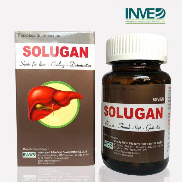 Bổ gan thanh độc giải nhiệt Solugan