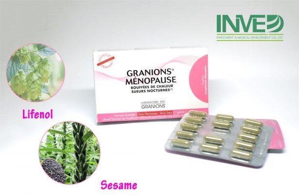 Thực phẩm chức năng cho phụ nữ tiền mãn kinh Granions Menopause