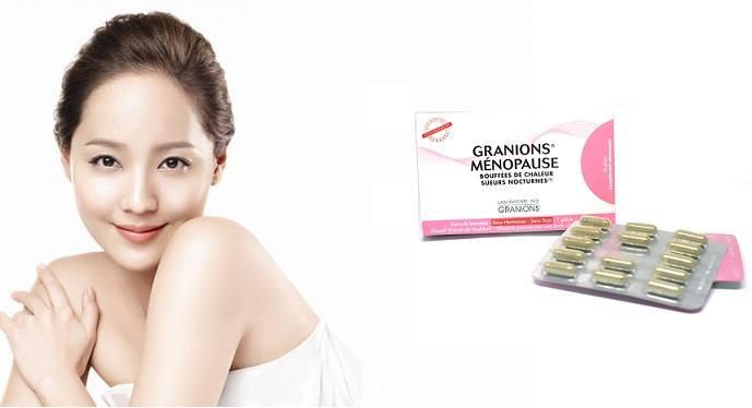 viên uống granions menopause giá bao nhiêu? mua ở đâu?
