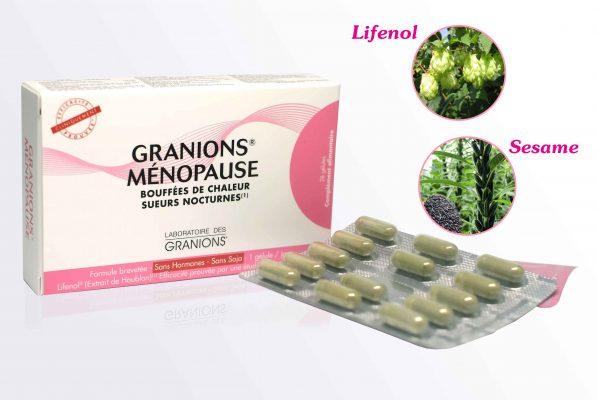 Sản phẩm chứa chiết xuất Lifenol từ hoa bia và Sesame từ vừng đen