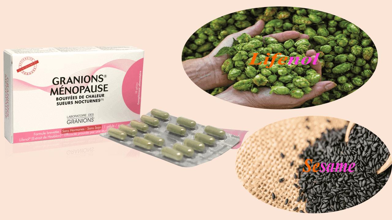 sản phẩm Granions Ménopause của Pháp