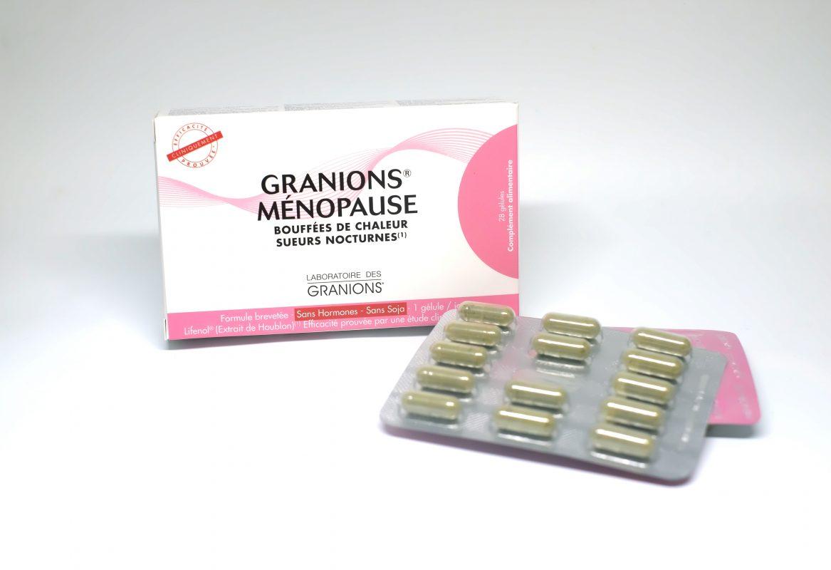Granions Ménopause có bán tại các hiệu thuốc trên toàn quốc