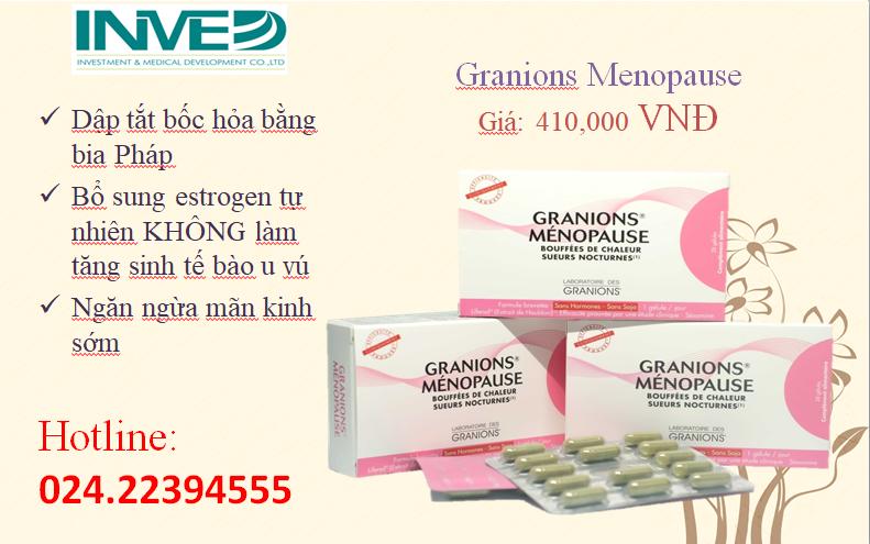 Granions-Ménopause