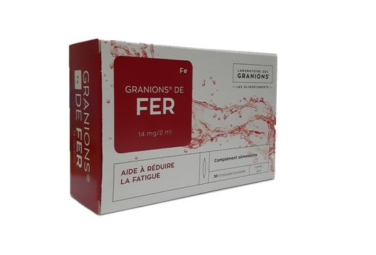 Granions De Fer mẫu mã bao bì mới