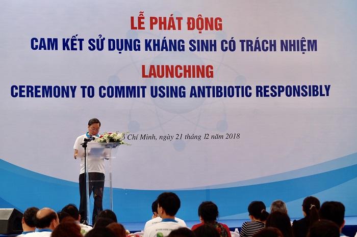 Lễ phát động sử dụng kháng sinh đúng cách
