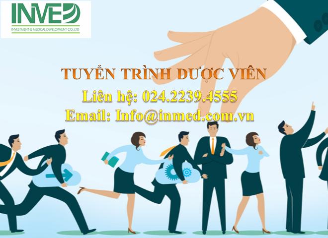 Công ty INMED tuyển dụng TDV