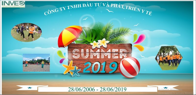 Công ty INMED du lịch hè 2019